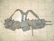 Israeli Army Idf Old Ephod Vest Zahal 1984 MADE IN ISRAEL Rabintex with  Z Label