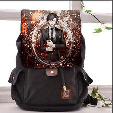New Game Cool Mystic Messenger Anime Canvas Backpack Laptop Shoulders Bag #F07