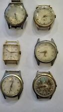 Antique Lot 6 Wrist watches two working
