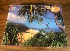 big ben lumahai Beach Kauai Hawaii Puzzle 1000 Piece Used Complete