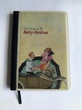 THE STORY OF MY HARLEY-DAVIDSON LEATHER BOUND NOTEBOOK
