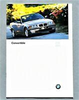 ORIGINAL 1997 BMW 3 SERIES CONVERTIBLES PRESTIGE BROCHURE ~ 26 PAGES ~ 97B3C