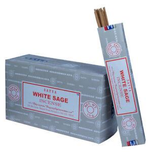 Genuine Satya Sai Baba WHITE SAGE Incense BULK BUY (BACK IN STOCK)