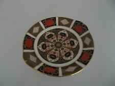 ROYAL CROWN DERBY OLD IMARI BUTTER PLATE