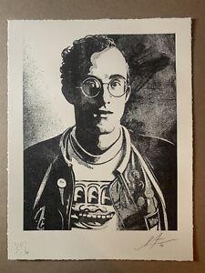 Shepard Fairey Obey KEITH HARING Art Is For Everybody Art Print Letterpress /AP