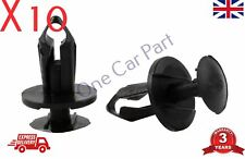 10x Clips For Land Rover P38 Wheel Arch Bumper Splashguard Shield Fastener Black