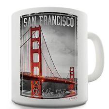 Twisted Envy San Francisco Golden City Ceramic Tea Mug