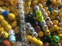 LEGO minifigure spare heads x 20     mixed lot of heads
