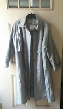 VTG Aurora International by Abbmoor  Women's Beige Taupe Trench Coat Size 20 WP