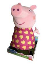 Peppa Pig Giant Talking Peppa Soft Plush Toy Cuddly Doll 40cm