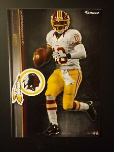 NFL Washington Redskins Robert Griffin III Fathead Decal Tradeables Vintage