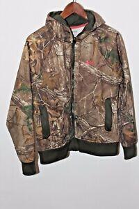 Under Armour Womens Med M Realtree Xtra Camouflage Zip Hoodie Hunting Sweatshirt