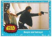 2015 Star Wars Journey To The Force Awakens #55 Bespin and betrayal Topps