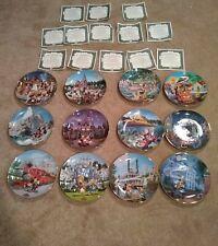 Bradford exchange Disney collector Park plates.