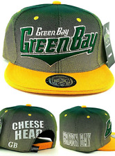 Green Bay New Leader Youth Kids Cheese Head Packers Green Era Snapback Hat Cap