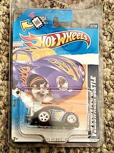 Hot Wheels 2012 Super Treasure Hunt Volkswagen Beetle In Protector