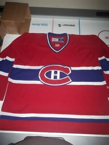 Montreal Canadiens red jersey XXL NHL