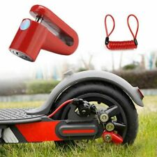 Electric Scooter Lock Anti Theft Disc Brake Locking Mechanism For M365 Durable