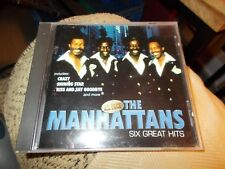 THE MANHATTANS CD SIX GREAT HITS