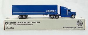ERTL ~ ALTL INC. (Hudsonville, MI) SEMI TRACTOR & TRAILER~Peterbilt Die-Cast~NEW