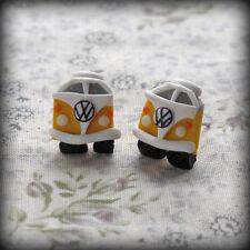 Splitscreen Campervan Stud Earrings Handmade vw any colour glow in dark summer