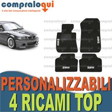 per BMW SERIE 6 E64 CABRIO TAPPETINI AUTO SU MISURA VELLUTO BEIGE 4 RICAMI TOP