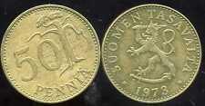 FINLANDE 50 pennia 1973
