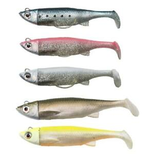 Savage Gear 3D TPE SOFT Minnow LURES NEW ready to fish and weedless - bargain