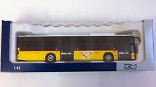 Rietze -0- 14236 Mercedes-Benz Citaro Die Post, Rattin AG Schaffhausen NEU 1:43