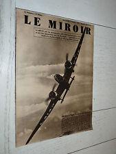 MIROIR 08/10 1939 GUERRE AVIATION RAF TOMMIES POLOGNE U-BOOTE MAGINOT SIEGFRIED