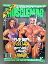 MUSCLEMAG International bodybuilding magazine /SAMIR BANNOUT + JANET TECH / 8-89