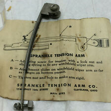 Vintage Sprankle Tension Arm Company Windshield Wiper Old Car