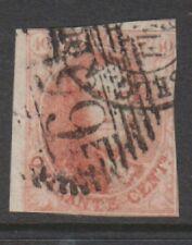 Belgium - 1861, 40c Carmine King Leopold - 2 Margins - Used - SG 15 (f)