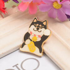 1pc Mignon Shiba Inu Broche Marine Doge lapel pin lolita girls kabosu Chien Broche