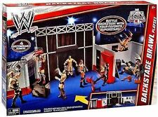 WWE RAW BACKSTAGE BRAWL Playset New Sealed