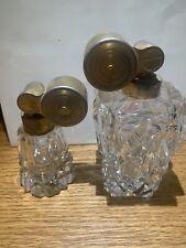 Vtg Marcel Franck Escale Perfume Art Deco Bottle France Euc. 2 Bottles One Price