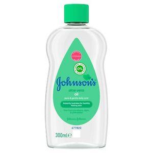 Johnsons Baby Massageöl Mit Aloe Vera 300ml