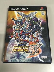 SUPER ROBOT TAISEN WARS MX Banpresto [ PlayStation 2 ] Japan Import