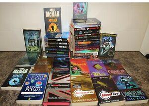 38 Older Children's Chapter Reading Books Alex Rider, Young James Bond Thrillers