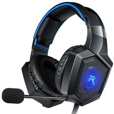 RUNMUS K8 Gaming Headset for PC, PS4, XBox One & Nintendo Switch