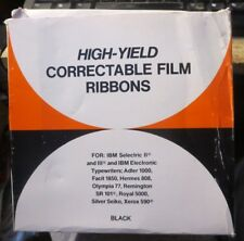 box of 6 High Yield Correctable Film Ribbons for IBM Selectric II III Royal 5000