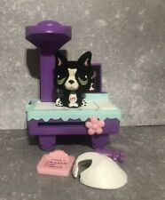 Littlest Pet Shop LPS FRENCH BULLDOG  DOG BUNDLE - VET CHECK