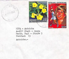CA211 1988 Central Rep Africa *Bangui Mboko RCA* Air Cover MISSIONARY TENNIS