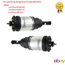 Pair Rear Air Suspension Strut For Land Rover Range Rover III 02-12 Left+Right