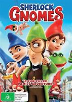 Sherlock Gnomes DVD NEW Region 4