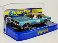 Slot Scx Scalextric Superslot H4160 Mercury Cougar #48 Paul Westberg