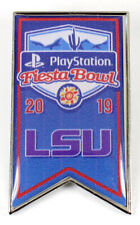 Official 2019 Playstation Fiesta Bowl Lsu Tigers Collectible Pin