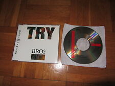 BROS Try 1991 EUROPEAN CD single extended remix