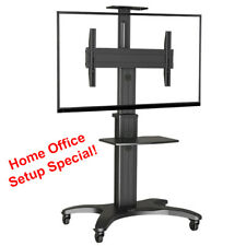 """Mobile TV Stand NEW AVF1500-50-1P Height-adjustable (32""""-60"""" screens up to 36kg)"""