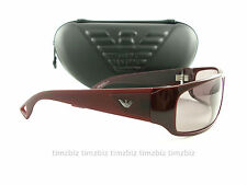 New Emporio Armani Sunglasses EA 9427/s QKE10 Burgundy Authentic